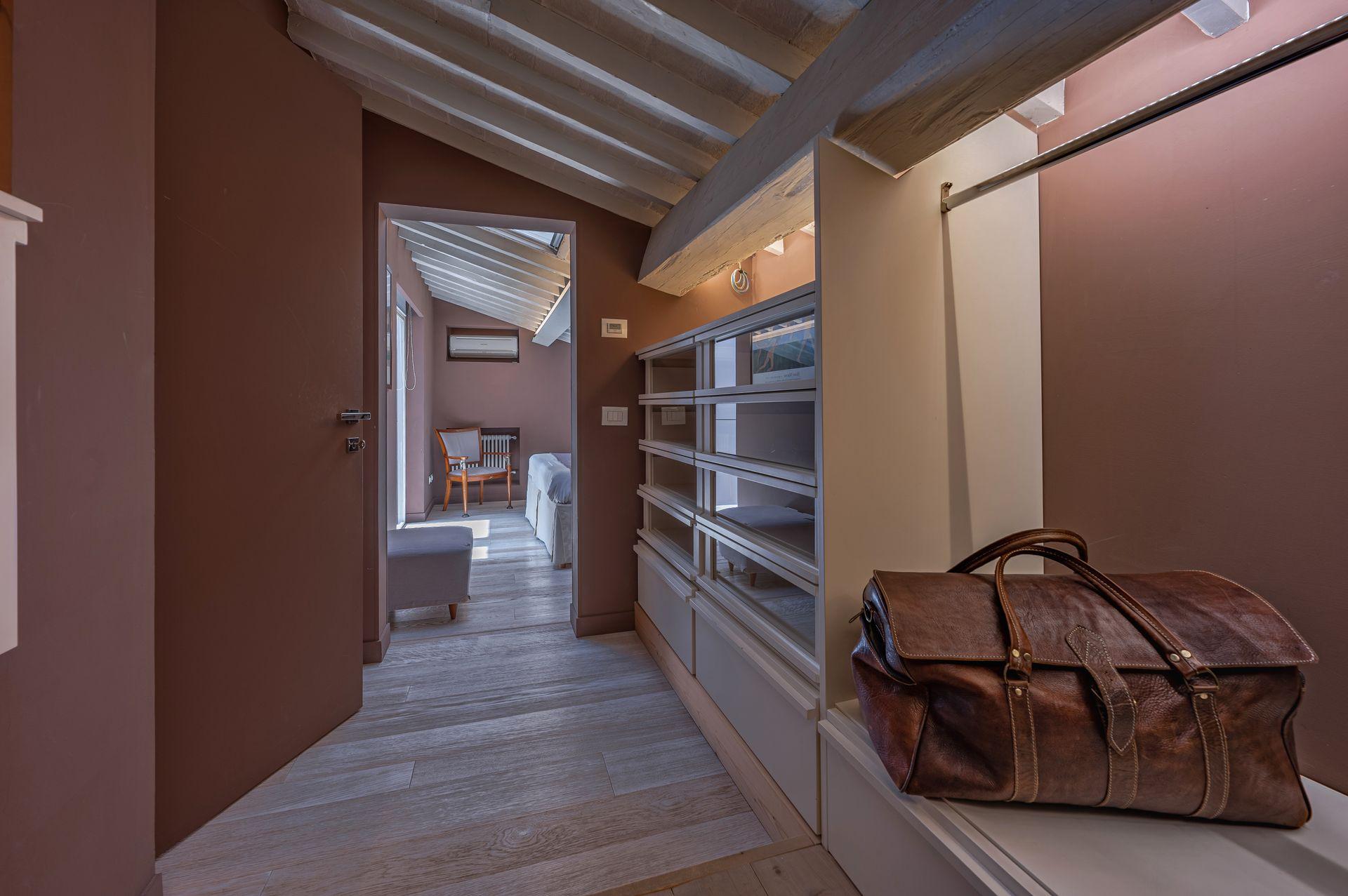 Chocolate room wardrobe