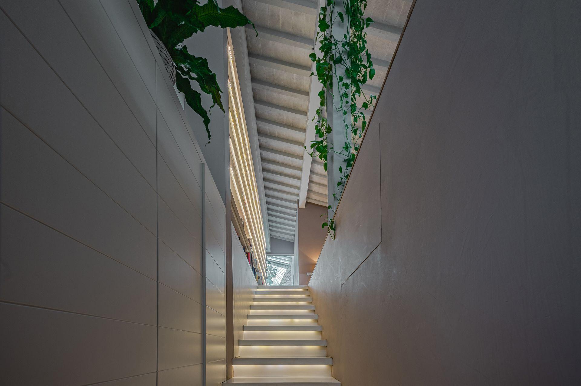 Penthouse entrance
